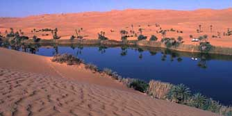 Nordafrika, Libyen: Gro�e Expedition - Um El Ma See - Mutter des Wassers